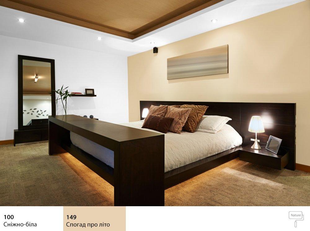 колір стін у спальні