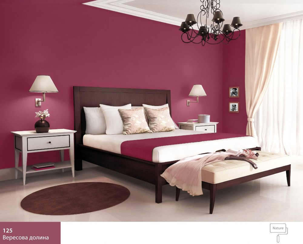 кольори для спальні